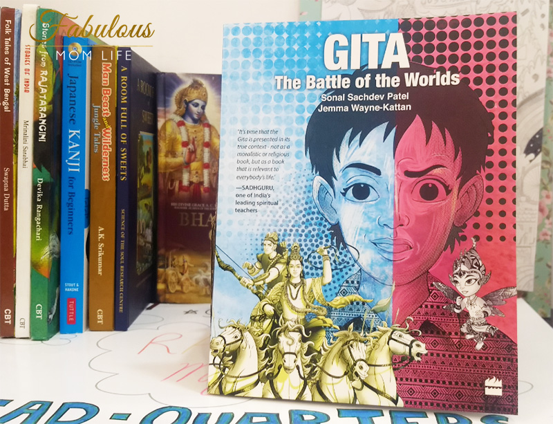 Gita: The Battle of the Worlds - Children's Book Review