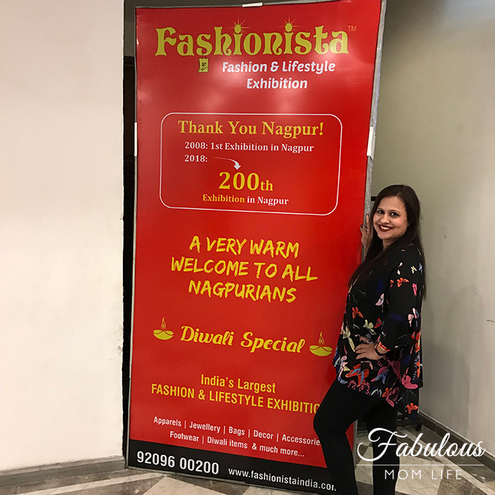 fashionista diwali 200th exhibition nagpur