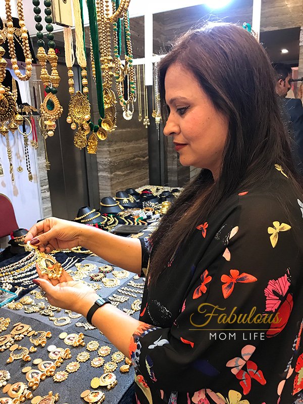 gunj designer hub jewellery at fashionista exhibition