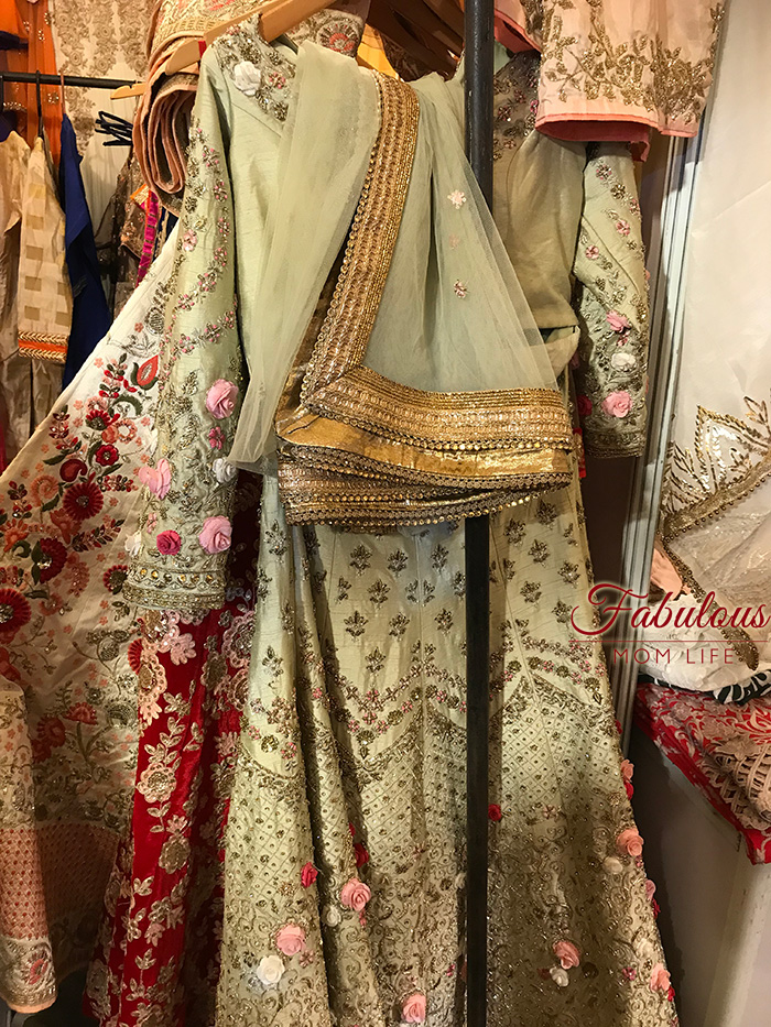 Embroidered party lehengas