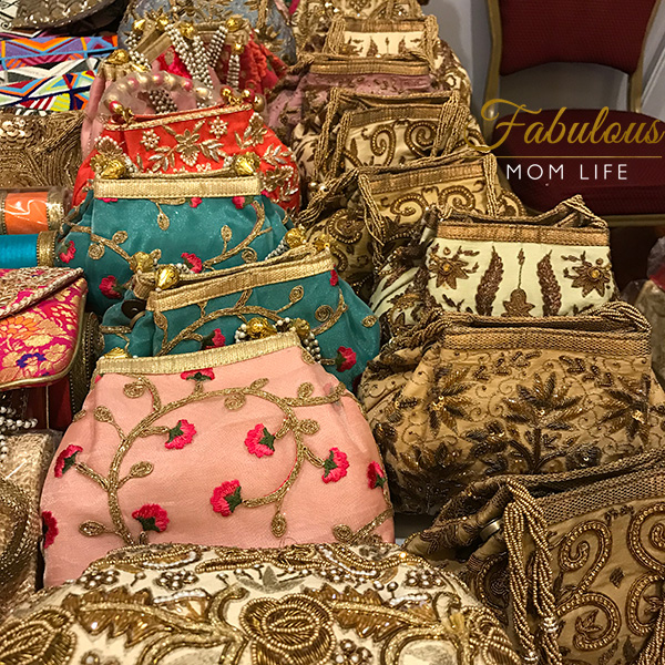 vidya bags indian embroidered party purses