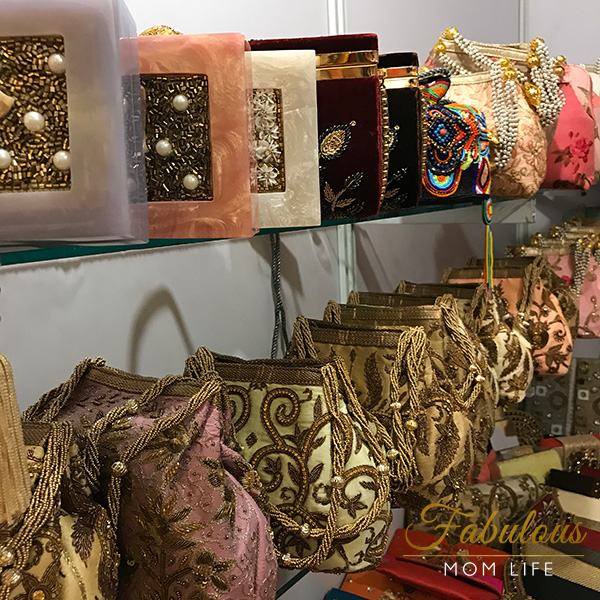 vidya bags indian embroidered potli party purses