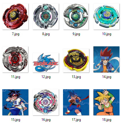 graphic regarding Printable Tokens referred to as Absolutely free Printable Beyblade Bingo for Birthday Get-togethers