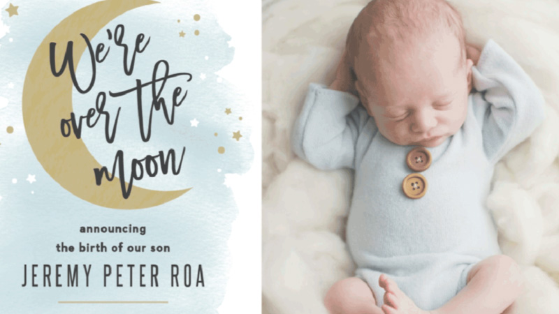 Baby Boy Birth Announcement Tips For New Moms - Fabulous Mom Life